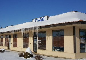 Talos Office in Winter